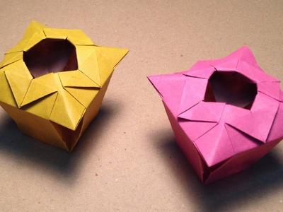Origami Vase Instructions