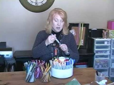 Paper Crafting Tips & Trash to Treasure.wmv