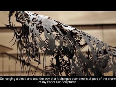 Paper Cut Sculpture -- Nahoko Kojima -- Documentary (2013)
