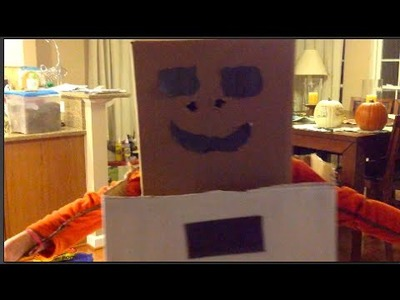 Sydnastical Presents:  DIY Snow Golem Halloween Costume