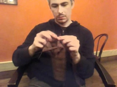 Time-lapse sock knitting: Two-minute sock