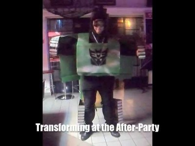 Transformable Transformer - Tank - DIY Costume