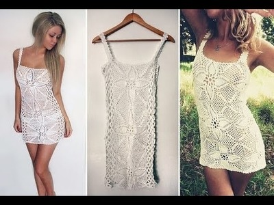 (8) Lace Crochet Clothes Dress Models Patterns Designs New Fashion