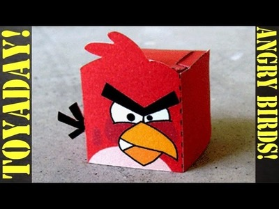 Angry Birds Red - Fun Paper Toy DIY!