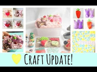 Craft update! Polymer clay figurines & earrings