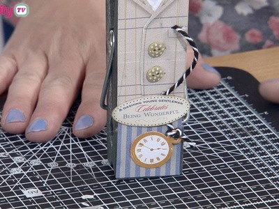 Crafting a Gift For a Man   docrafts Creativity TV