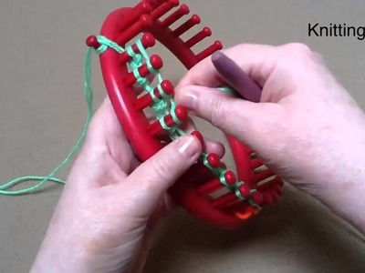 Create a flat panel on a round loom