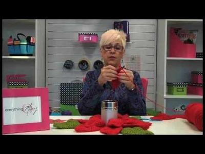 Crochet Poinsettia with Mary Taylor