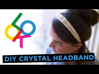 Crystal Flower Headband: Look DIY