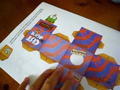 Cut the Rope Paper Crafts (Free Downloads in Descriptions)