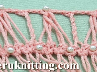 Developing Basic Strip With Additional Crochet Tutorial 28 Hairpin Crochet