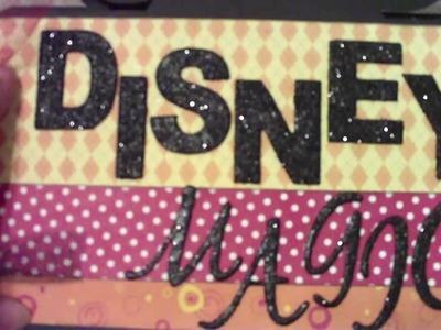 Disney Mini Album Scrapbooking