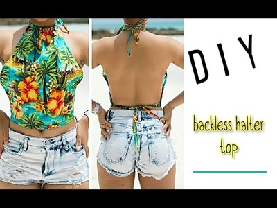 DIY Backless Summer Top