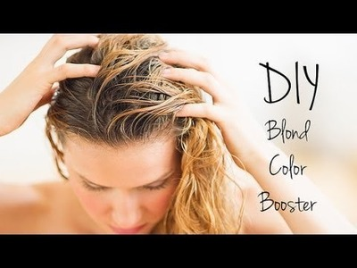 DIY Beauty | Brighten Blonde Hair at Home | Beauty How To