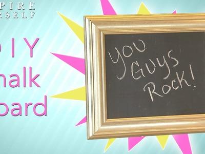 DIY: Chalkboard Memo Board