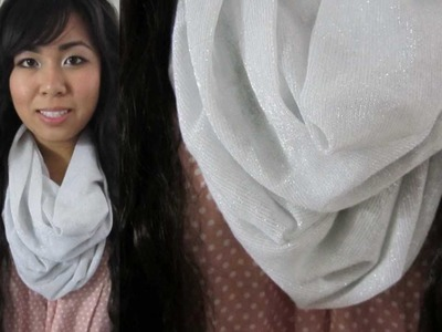 DIY: Cute & Simple Infinity.Circle Scarf