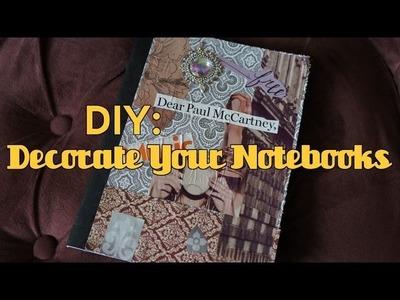 DIY: Decorate Your Notebooks   MORESAVANNAH