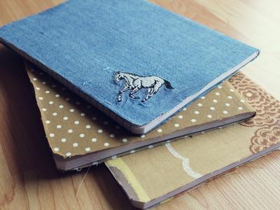 DIY - Fabric Covered Gratitude Journal