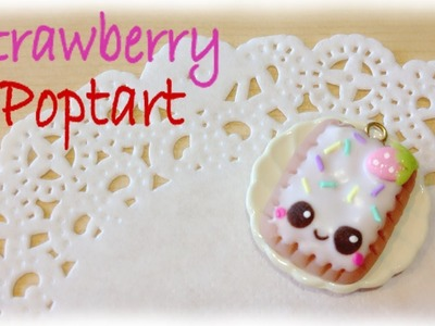 DIY Kawaii Super Cute Poptart Clay Charm