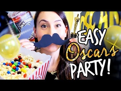 DIY Oscars Party: Decor, Snacks, & Drinking Games (ONLY $20)! | itsLyndsayRae