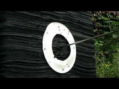 DIY Paper Plate Archery Target