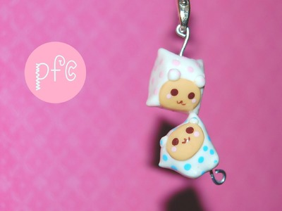 DIY Pigu & Mamo {Sentimental Circus} Polymer Clay Charm Tutorial