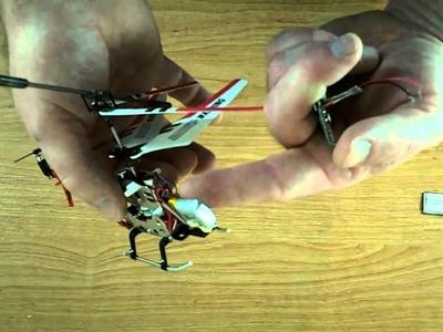 DIY: RC Choppercam. helicam Syma s107