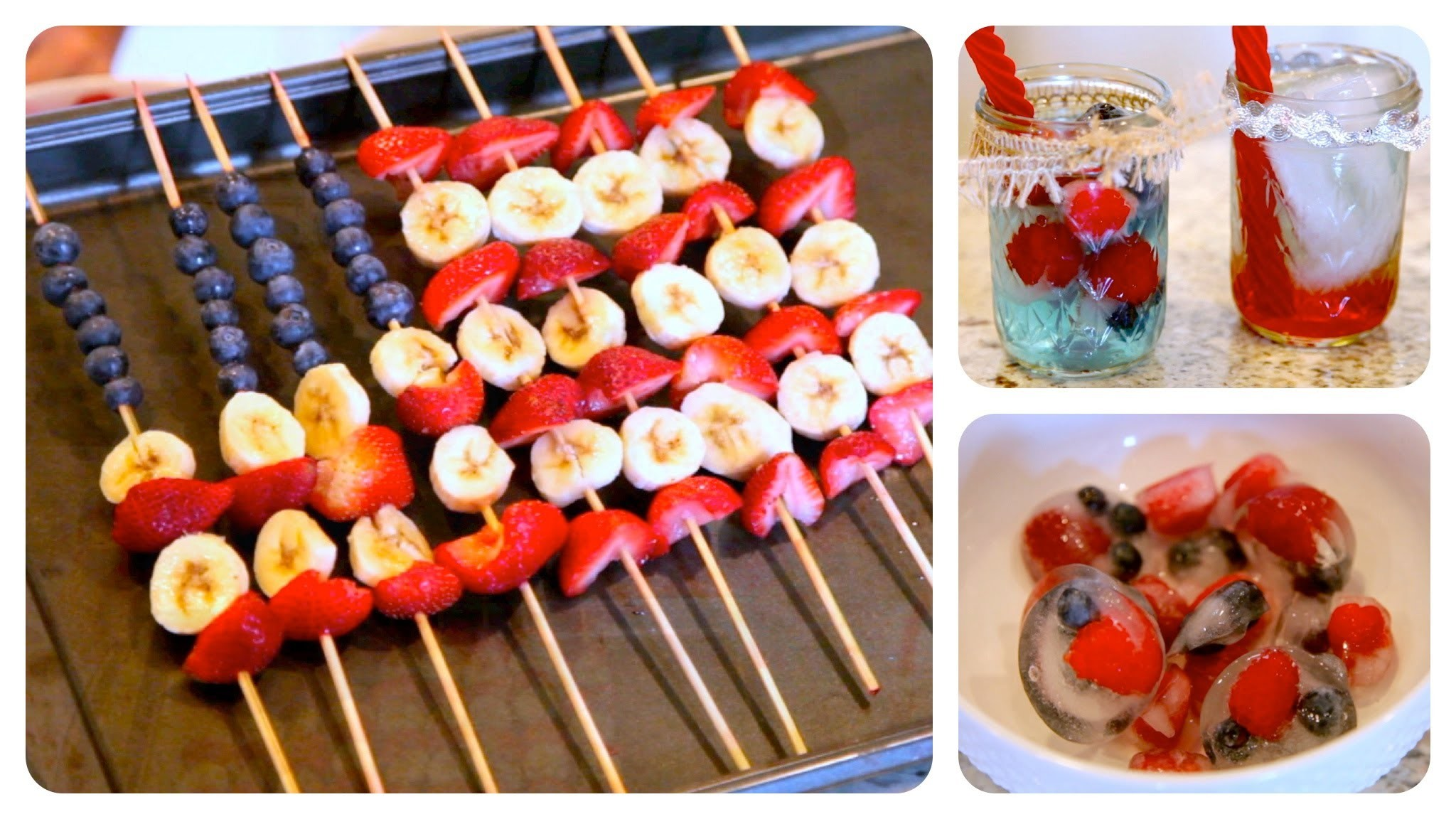 DIY Red White and Blue Treats | 4th of July Ideas