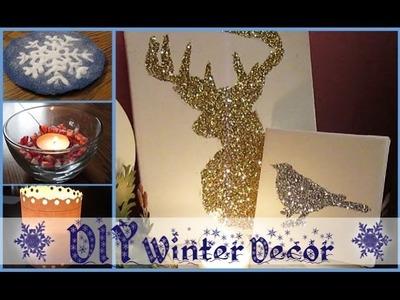DIY Winter Decorations