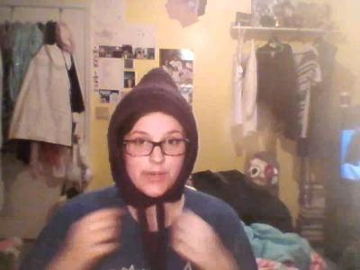 GU'CHET CROCHET PIXIE HAT! (Day 29: 2012 VAD)