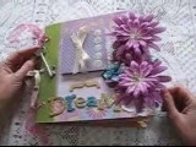 Handmade Scrapbook Album Premade Pages