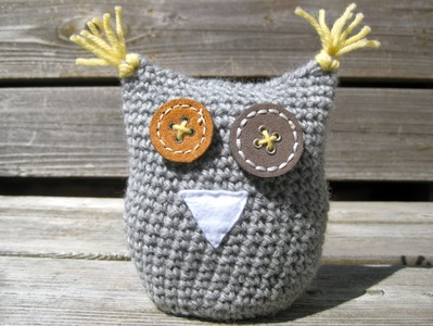 How to Crochet an Owl: Part 1 (magic circle, increase, flat spiral)
