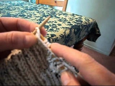 How to Knit 2x2 Ribbing