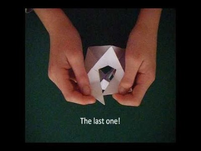 How to make an Origami Gyroscope