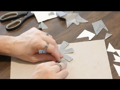 How to Make Duct Tape Flower Pens Step by Step : Duct Tape Crafts
