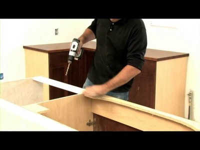 How to Measure & Install a Wood Countertop