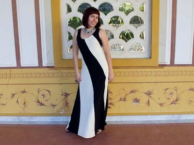 Knit Maxi Dress - McCall's Pattern 6697