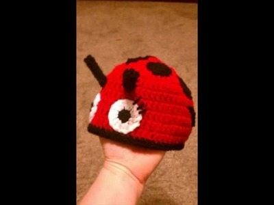 Ladybug Hat Crochet Pattern.Spider and Web Pattern