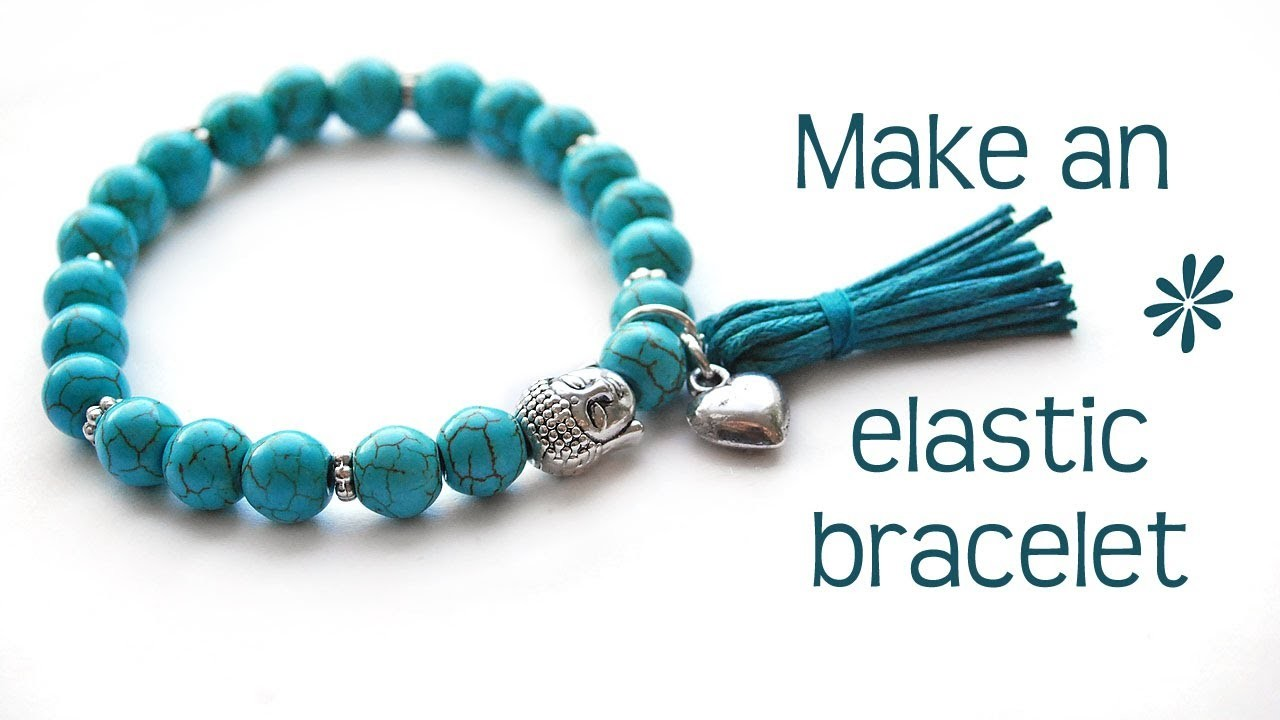 Make a stretch elastic bracelet - best tips!