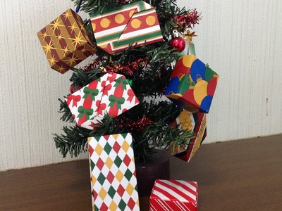 More Christmas Origami Pattern Paper - FREE Patterns!