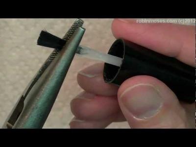 My NEW Topcoat DAZZLEDRY - PLUS how to smash your brush!