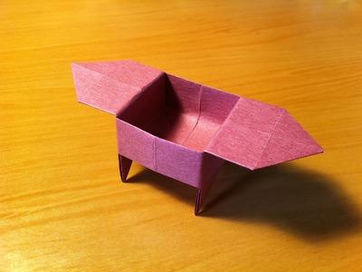Origami Box. Candy Dish