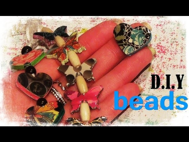 Recycled Flat Bead Tutorial by Jennibellie