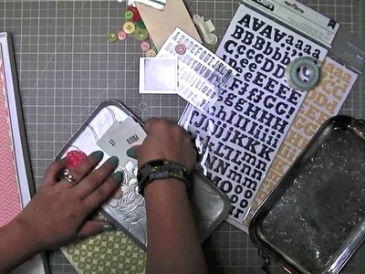 Scrapbooking with a kit: My approach