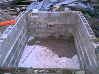 Summer 2011 DIY Lap pool project