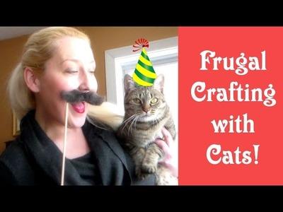 The Frugalist Craft! (with FURminator) #NationalHairballAwarenessDay