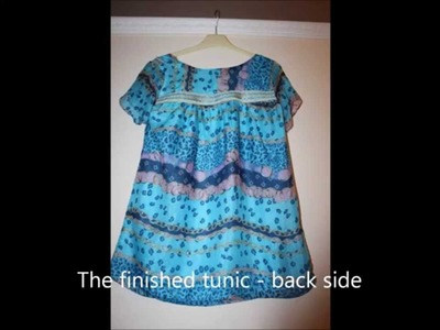 The making of a tunic top