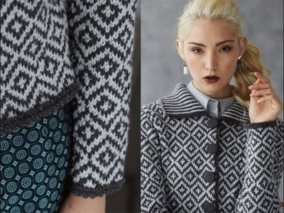 #12 Graphic Jacket, Vogue Knitting Holiday 2013