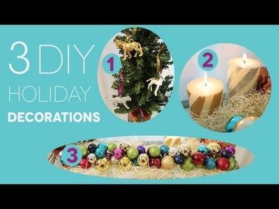 3 DIY Holiday Decorating Ideas