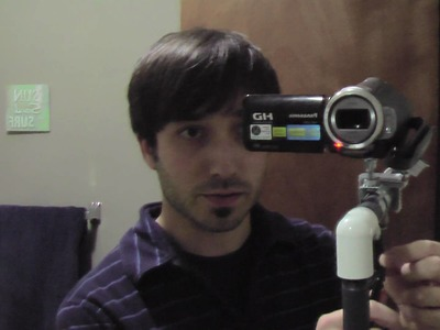 $35 DIY Steadicam Merlin - Mirror demo #1